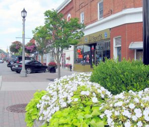 Downtown Blenheim Ontario