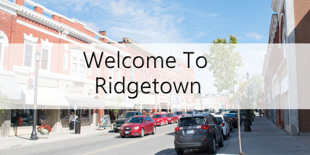 Welcome to Ridgetown