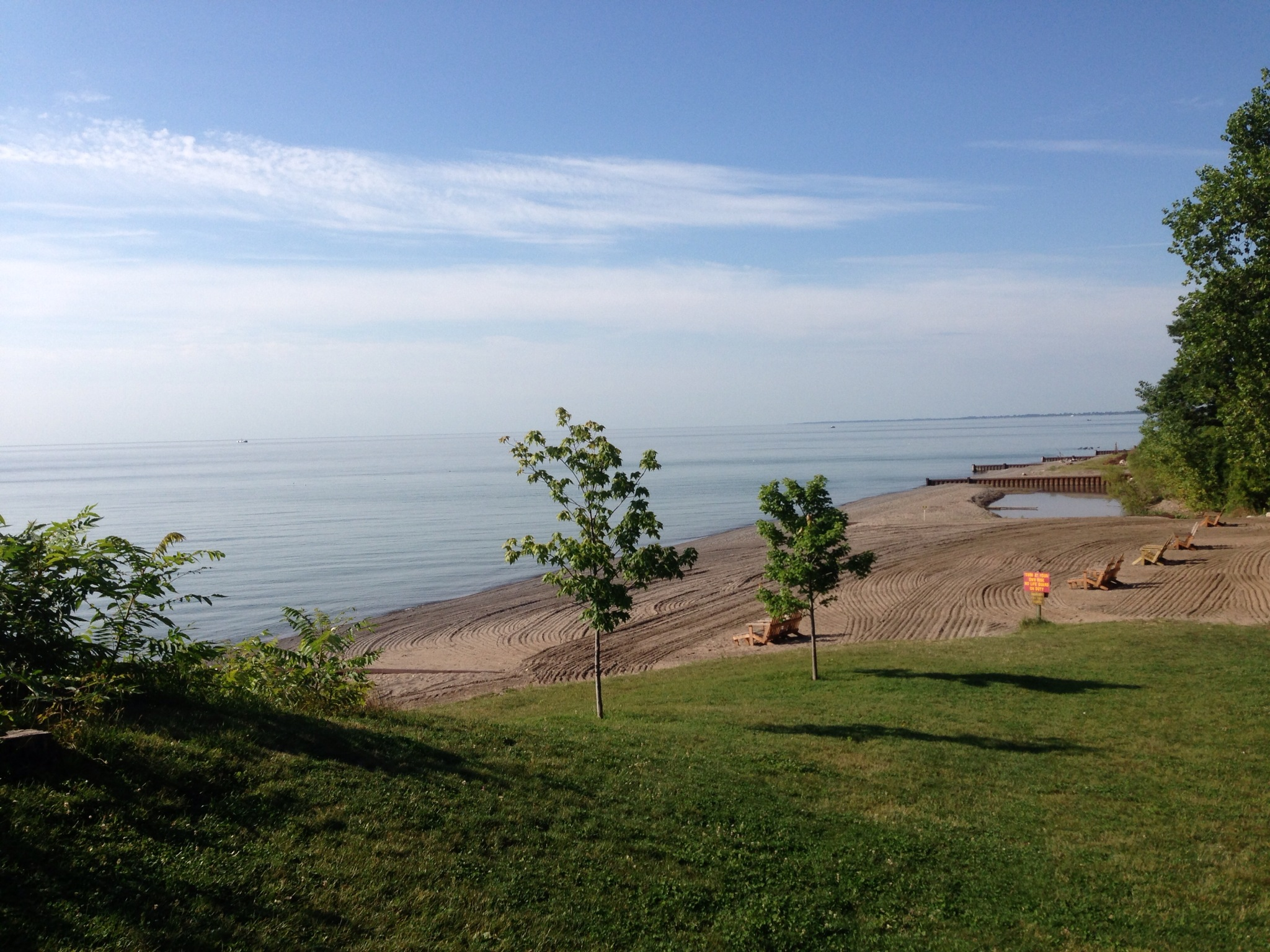 Campers Cove Campground-Lake-Erie-View