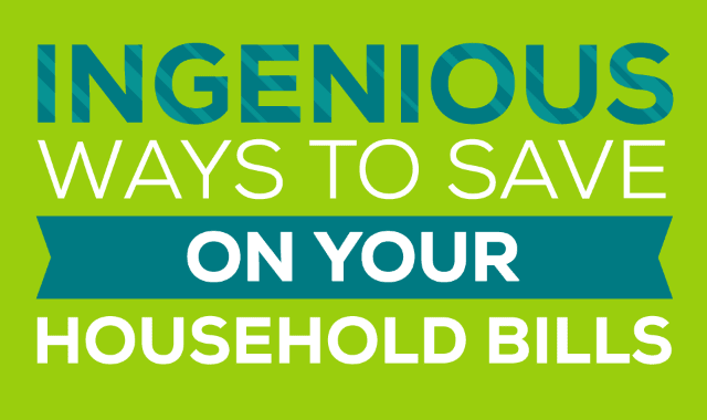 ingenious-ways-to-save-on-your-household-bills
